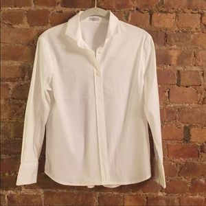 Brunello Cucinelli M crisp white shirt